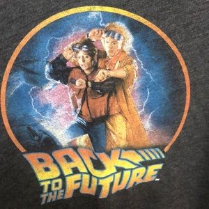 Back to the Future t-shirt - size Small